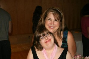 Debra Ruh and her daughter, Sara. Ruh runs TechAccess, a company that helps makes technology more accessible to people with disabilities.  Courtesy of Debra Ruh