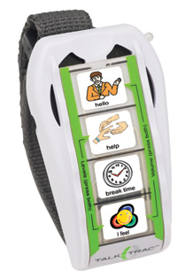 TalkTrac communication device for children with autism
