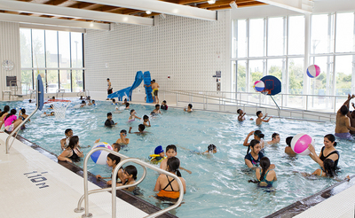 Pool wins barrier free design award 2011 for Pool design hours