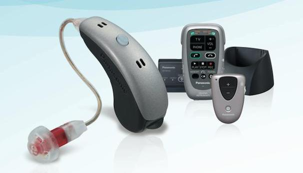 Panasonic Bluetooth hearing aid device