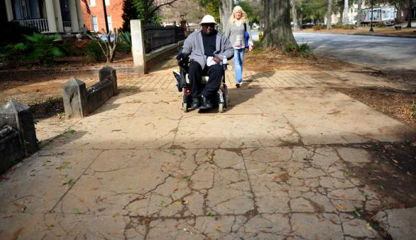 Poorly Maintained Augusta Sidewalks Continue To Be A
