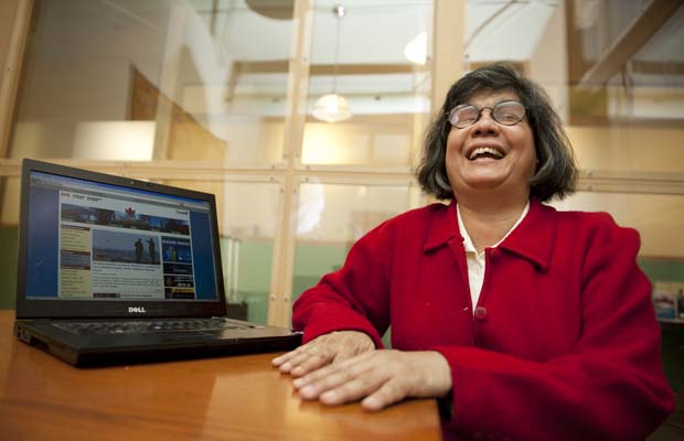 Donna Jodhan wins at Federal Court against disability discrimination (Photo credit: Montral Gazette)