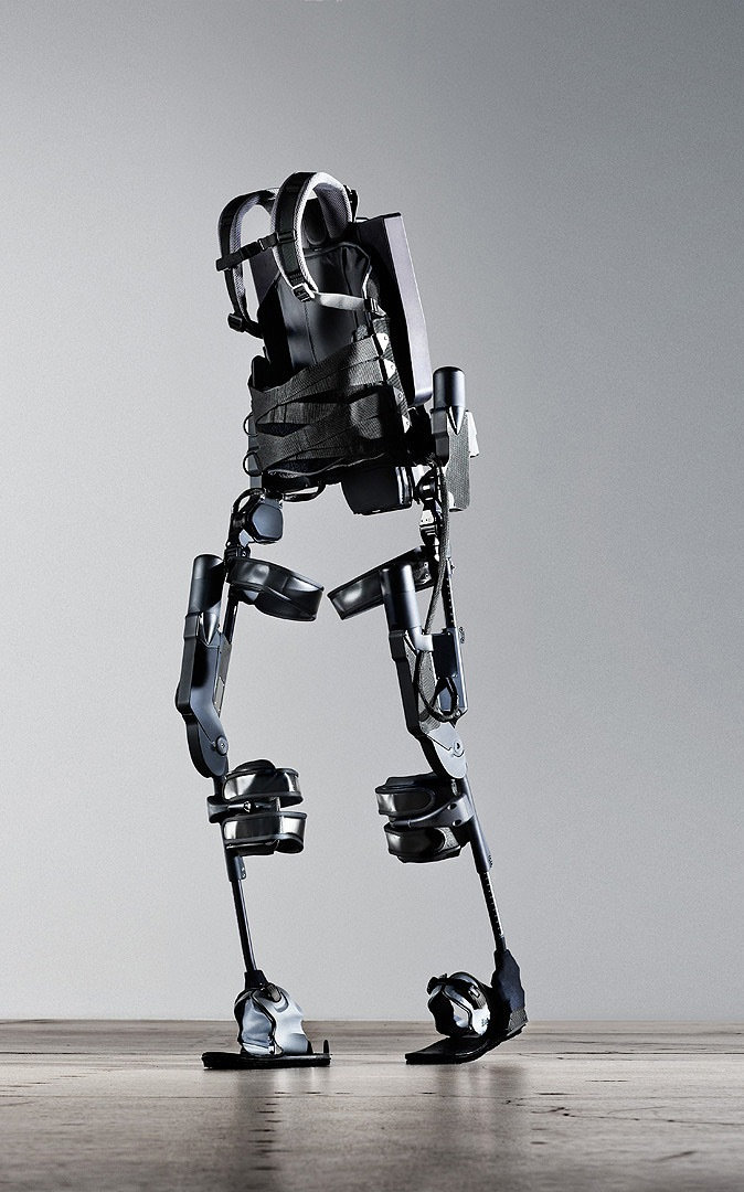 Ekso, the battery-powered robot suit.