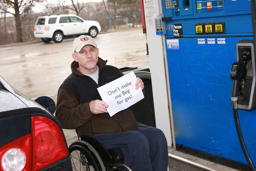 Disability Gas Coalition To Improve Gas Station