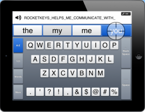 Rocketkeys App Screenshot