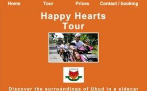 Happy Hour Tour website screenshot