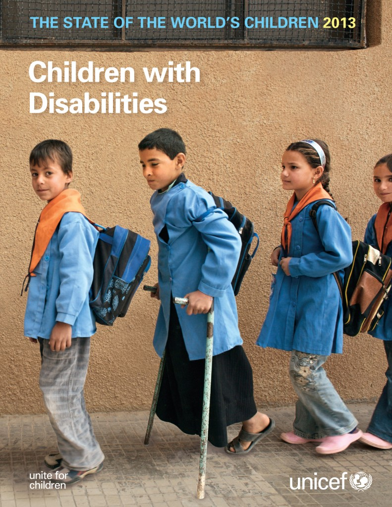 The State of the World's Children 2013: Children with Disabilities Cover