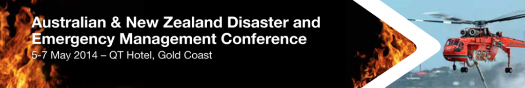 Australian, New Zealand Disaster and Emergency Management Conference