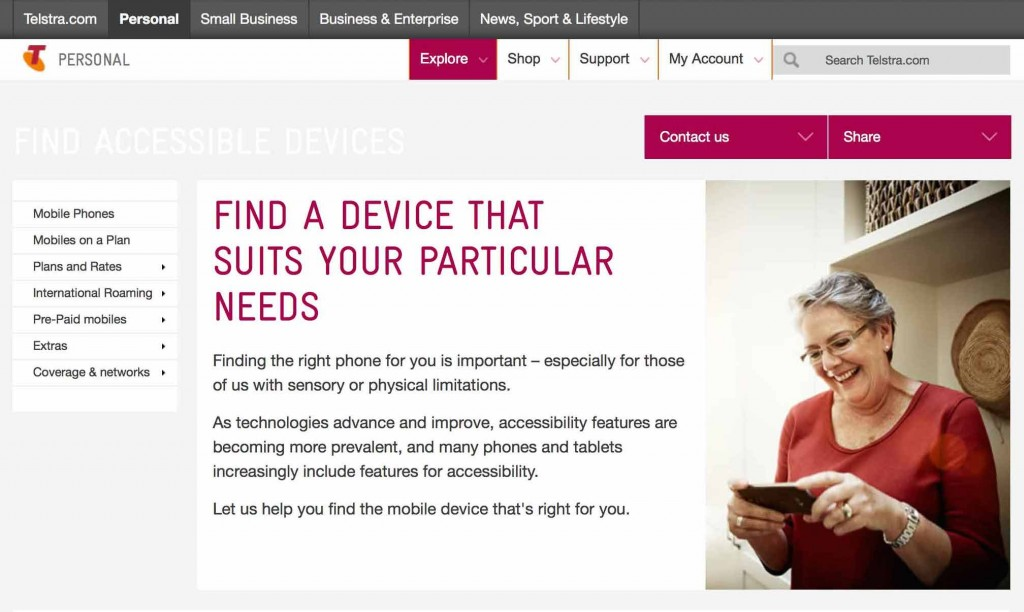 Telstra launches communications initiatives for Australians with