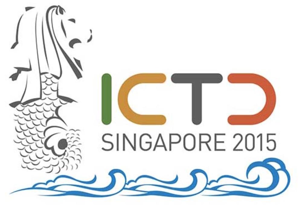 ICTD 2015 logo