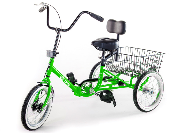 Photo of the Lime Accessible Micromobility Vehicle