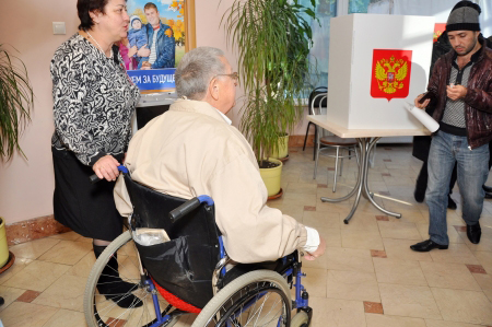 Sochi Polling stations for people with disabilities