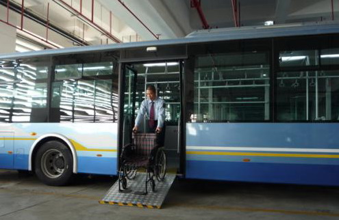 Universal Joint Menu >> Persons with disabilities call for changes in public transport