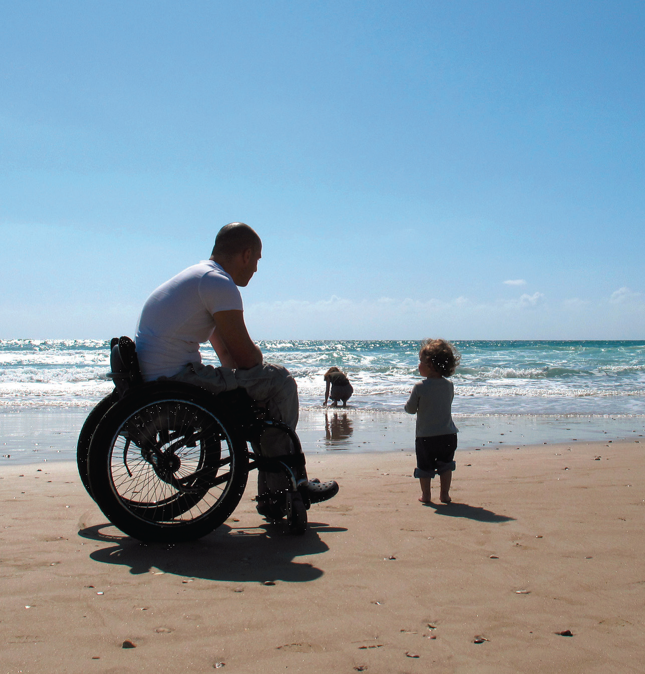 Wheelchair access onto beach