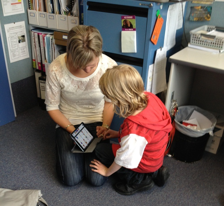 Researcher helps give children with autism the chance to communicate (Photo credit: Victoria University of Wellington)