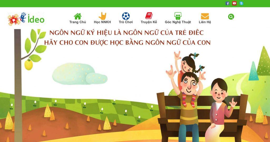 Ideo website screenshot