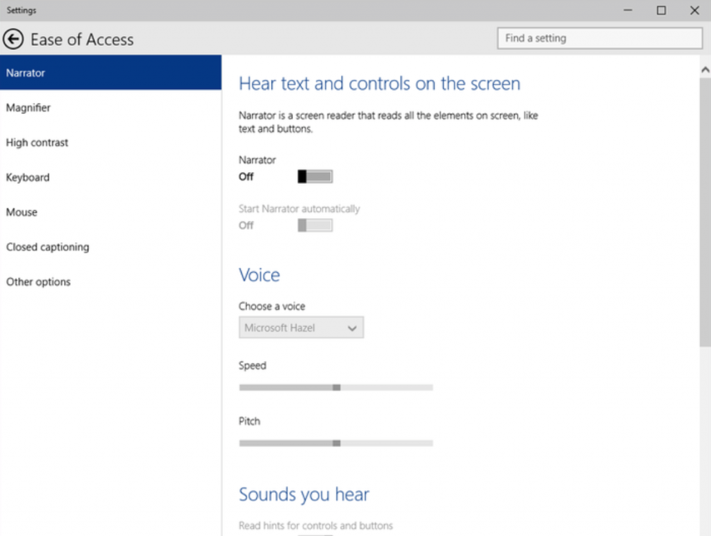 Windows 10 anniversary update brings accessibility