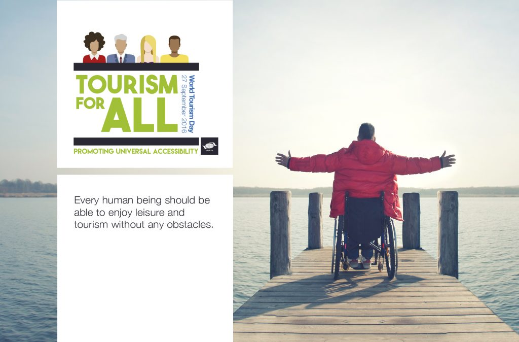 Poster World Tourism Day 2016 Tourism for All: Promoting Universal Accessibility