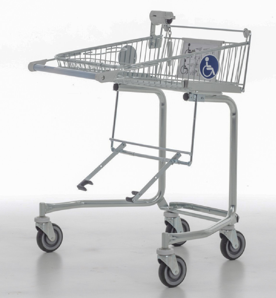 Shopping Cart for Wheelchair Users