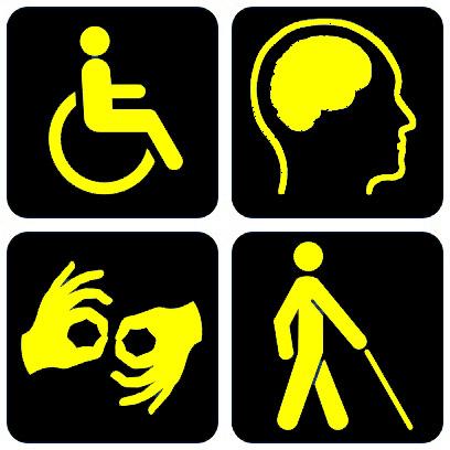 Disability symbols