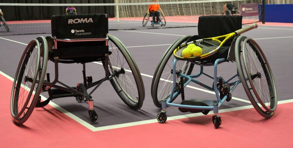 Tennis wheelchair