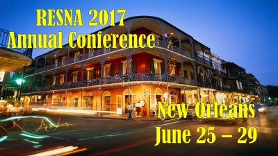 RESNA 2017: Annual Conference Banner