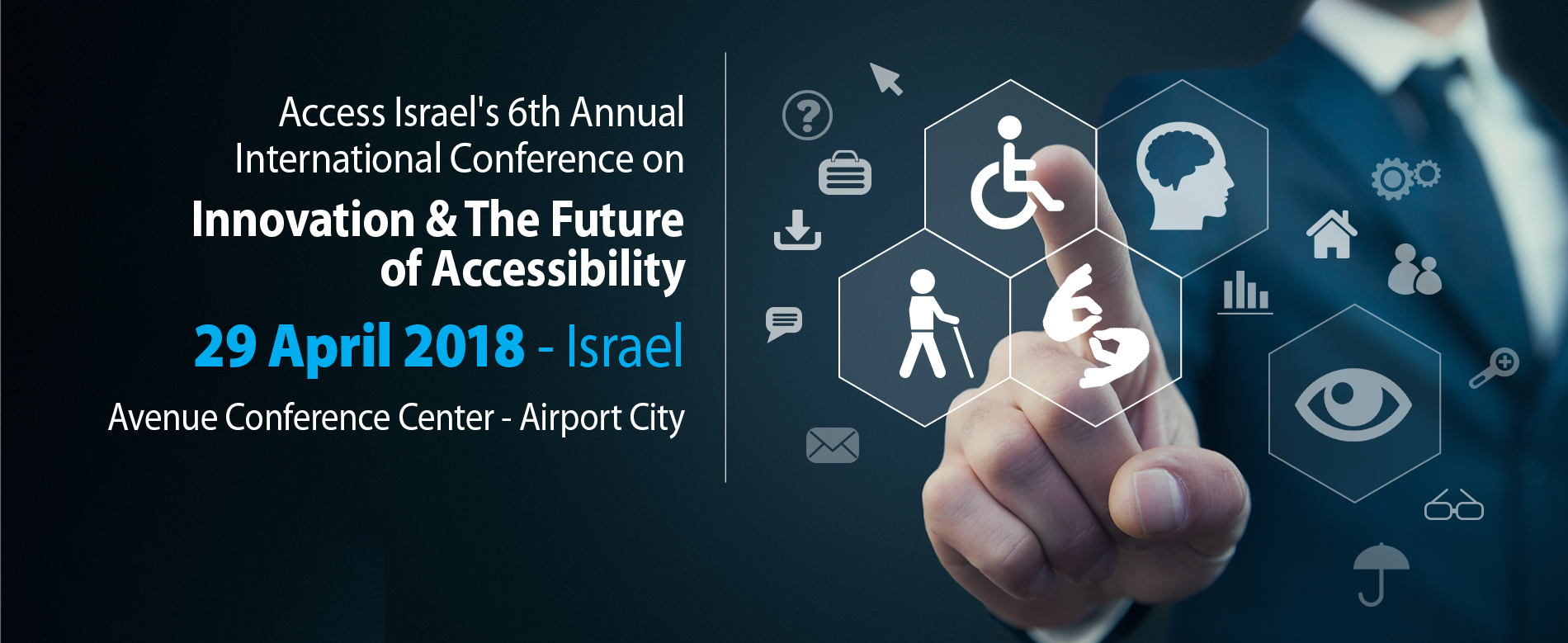 Access Israel 6th Annual Conference Logo
