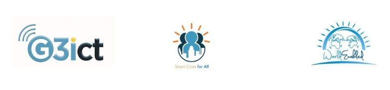 G3ICT, WorldEnabled, Smartcities Logo