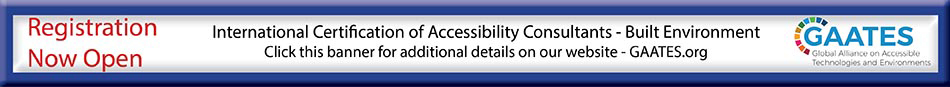 International Certification of Accessibility Consultants page