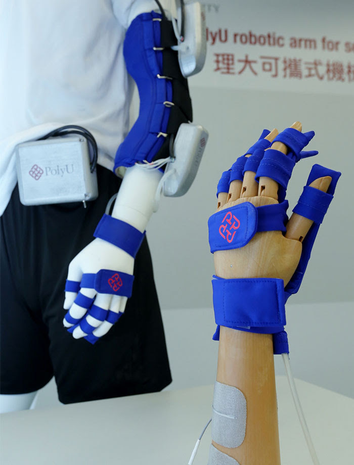 PolyU's robotic arm