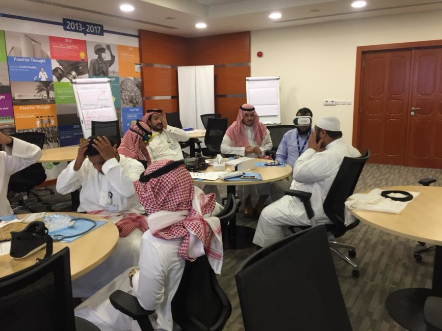 """Qaderoon Conducts """"Emergency Evacuation for Persons with Disabilities"""" Workshop Hosted by Almarai"""
