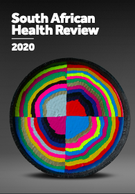 Cover of the South African Health Review