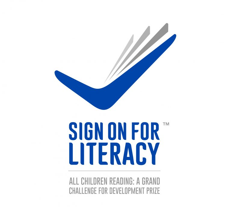 Sign On For Literacy logo