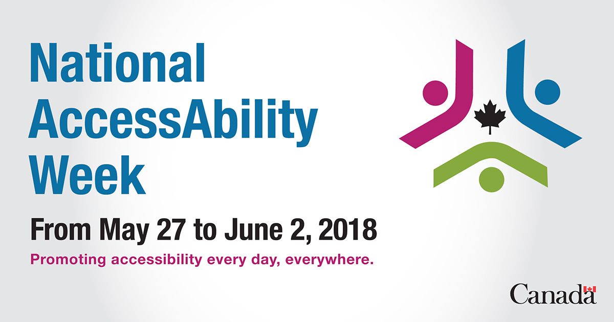 National Accessibility Week Logo