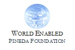 World Enabled - Pineda Foundation logo