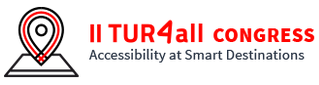 Logo of Accessibility at Smart Tourism Destinations: 2nd edition of the TUR4all Congress (Webinar series)