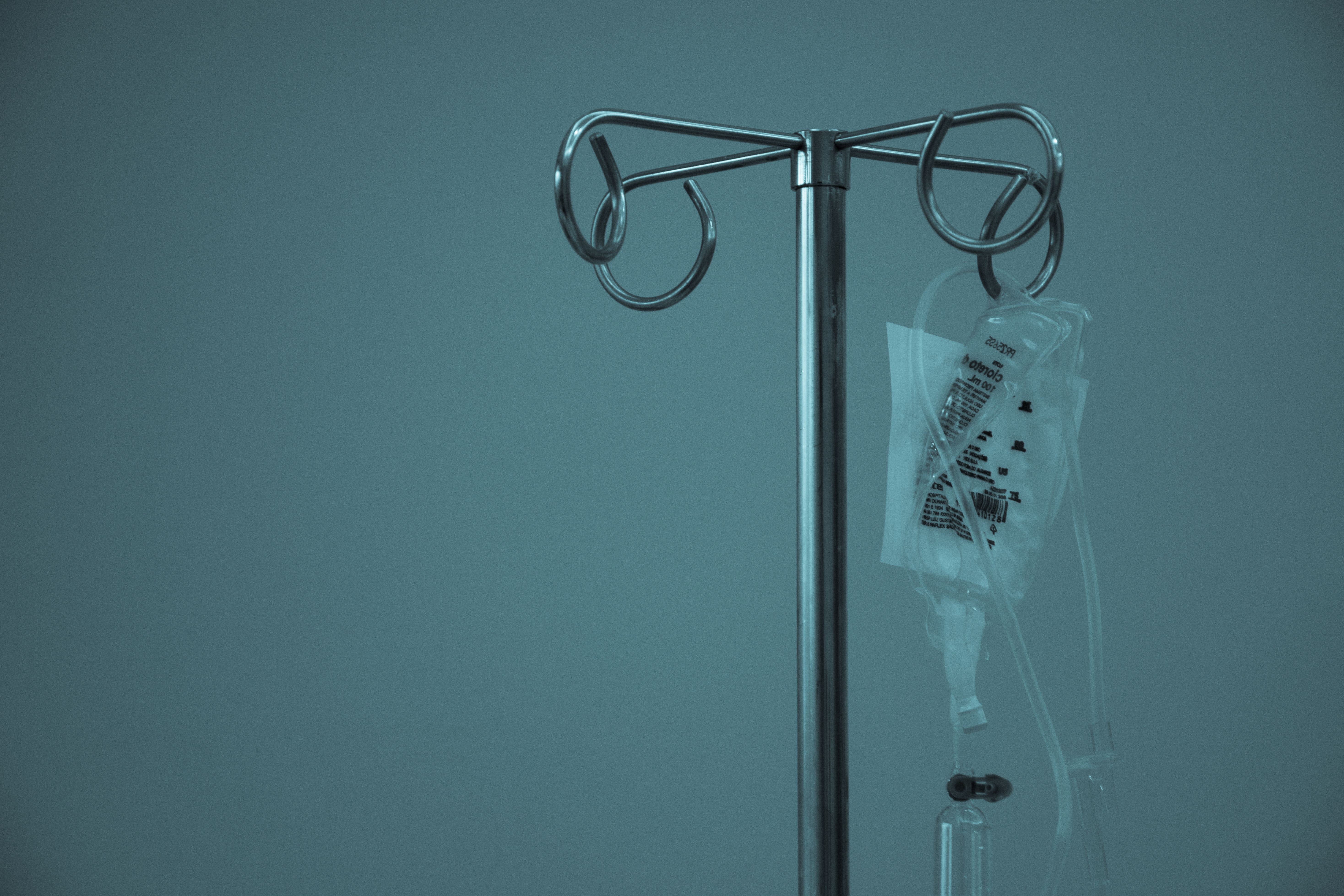Hospital medication tube and bag