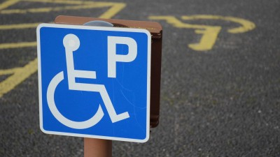 parking-space-for-disabled-drivers-in-culloden-scotland