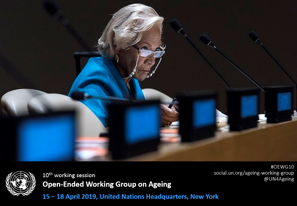 The Chair of the General Assembly's Open-ended Working Group (OEWG) on Ageing, Ambassador Martín García Moritán, Permanent Representative of Argentina to the United Nations
